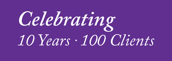 Celebrating 10 Years – 100 Clients