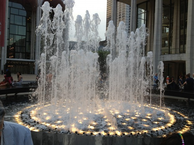 At Dusk: the fountain of life